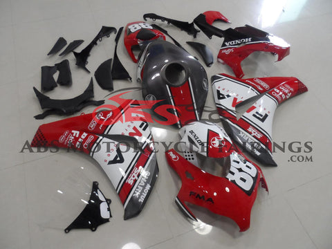 Red & Grey No 88 FMA 2009-2011 Honda CBR1000RR