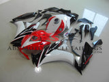 Red, White and Black Fairing Kit for a 2012, 2013, 2014, 2015 & 2016 Honda CBR1000RR motorcycle