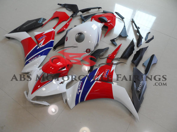White & Red Matte Black 2012-2013 Honda CBR1000RR