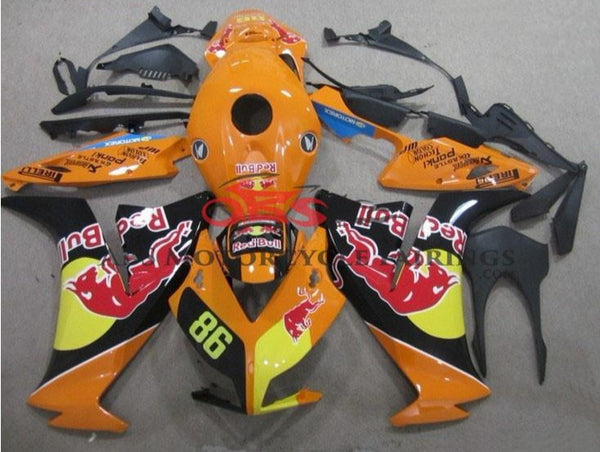 Orange Red Bull 2012-2013 Honda CBR1000RR