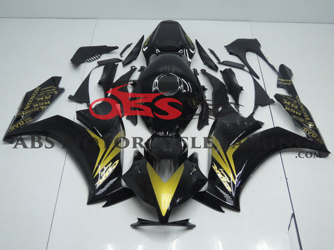 Black & Gold Honda CBR1000RR
