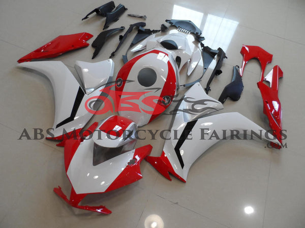 White Red & Silver 2012-2014 Honda CBR1000RR