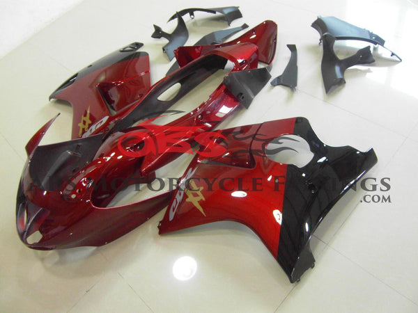OEM Candy Red & Black 1997-2007 Honda CBR1100XX
