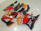 Orange, Black & Red REPSOL Fairing Kit for a 2004, 2005, 2006, 2007 Honda CBR600F4i motorcycle