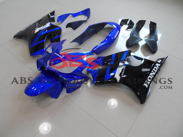 Honda CBR600F4i (2004-2007) Blue & Black Fairings