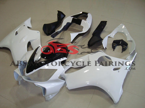 All White with Black Stripe 2001-2003 Honda CBR600F4i