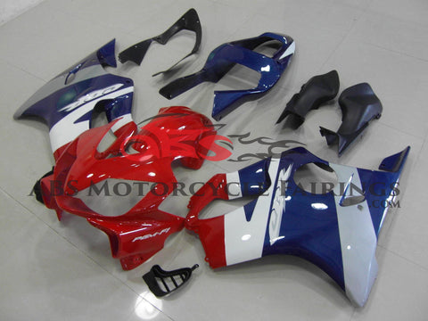 Red, Blue & Silver 2001-2003 Honda CBR600F4i