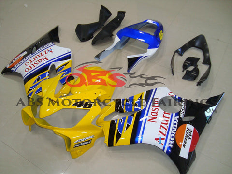 Honda CBR600F4i (2001-2003) Yellow #46 Race Fairings
