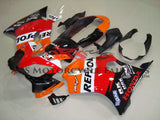 Honda CBR600F4i (2004-2007) Orange, Black & Red REPSOL Fairings