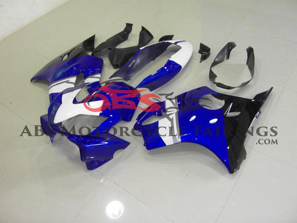 White, Black & Blue 2004-2007 Honda CBR600F4i