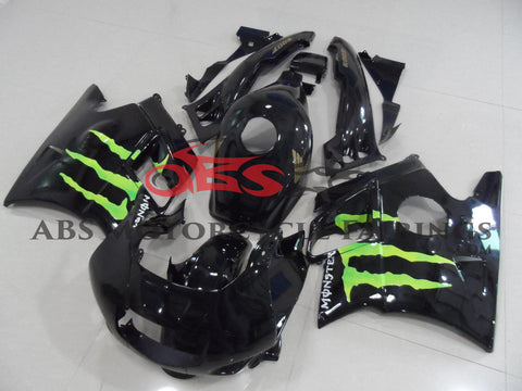 Black with Monster 1991-1994 Honda CBR600FS