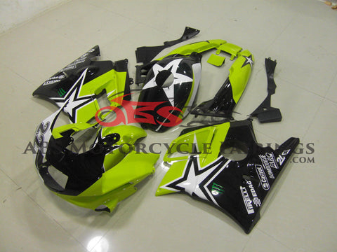 Green Yellow Star 1991-1994 Honda CBR600FS