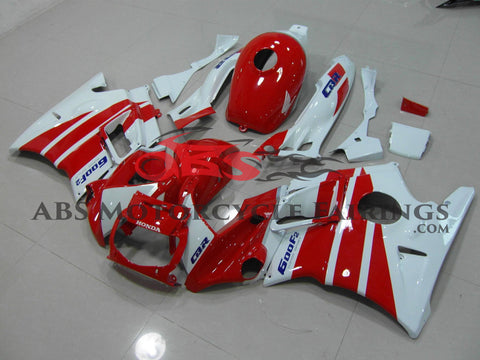 Red & White 1991-1994 Honda CBR600FS