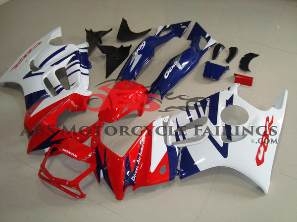 Red, Blue & White 1997-1998 Honda CBR600FS