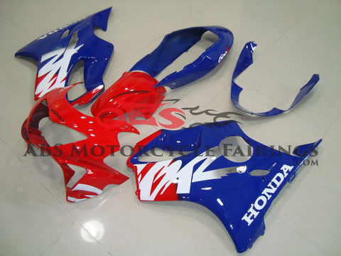 Red & Blue 1999-2000 Honda CBR600FS