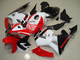 Red White & Black 2005-2006 Honda CBR600RR