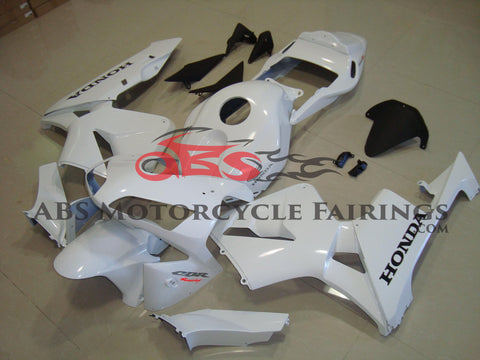 All White & Black Decal 2003-2004 Honda CBR600RR