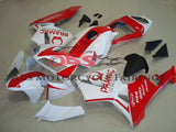 Honda CBR600RR (2003-2004) White & Red Pramac Race Fairings