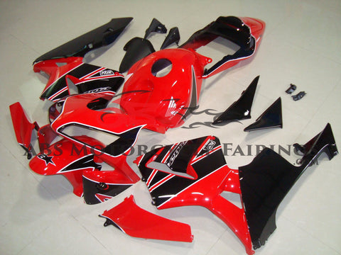 Honda CBR600RR (2003-2004) Red & Black Fairings