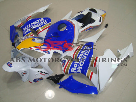 Honda CBR600RR (2003-2004) White & Blue Rothmans Race Fairings