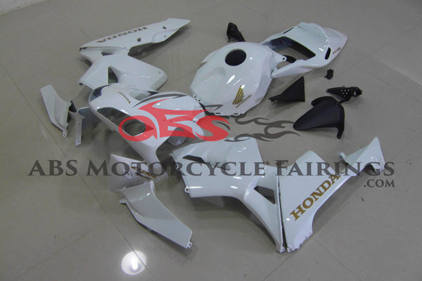 White with Gold Decals 2003-2004 Honda CBR600RR