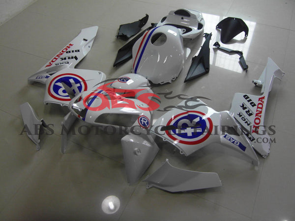 Blue White & Red 2005-2006 Honda CBR600RR