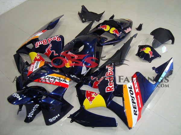 Dark Blue Red Bull 2005-2006 Honda CBR600RR