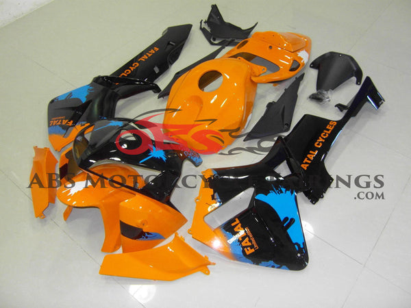Orange & Black 2005-2006 Honda CBR600RR