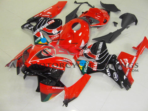 Red & Black Jomo 2005-2006 Honda CBR600RR