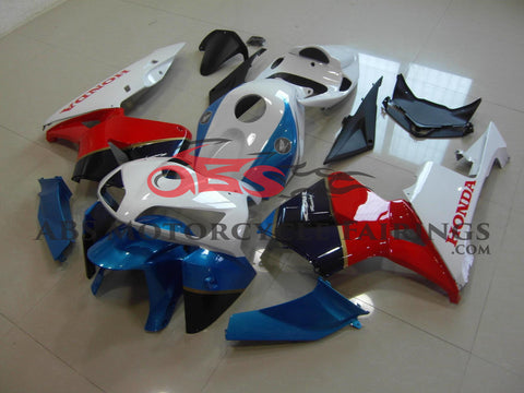 Red Blue & White 2005-2006 Honda CBR600RR
