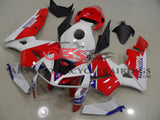 Red White TT Legends 2005-2006 Honda CBR600RR
