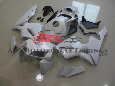 White Prim Painted 2005-2006 Honda CBR600RR