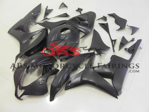 Honda CBR600RR (2007-2008) All Matte Black Fairings