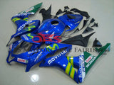 Blue and Green Movistar Fairing Kit for a 2009, 2010, 2011 & 2012 Honda CBR600RR motorcycle