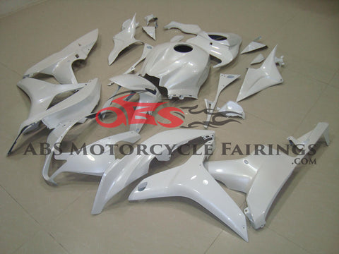 Honda CBR600RR (2007-2008) All White Fairings