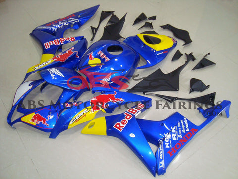 Red Bull Blue 2007-2008 Honda CBR600RR