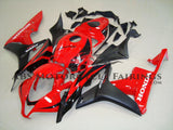 Red and Black Fairing Kit for a 2007, 2008 Honda CBR600RR motorcycle