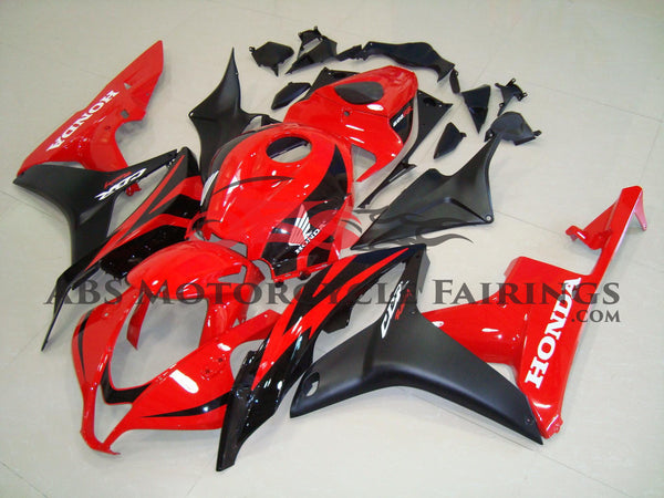 Honda CBR600RR (2007-2008) Red & Black Fairings