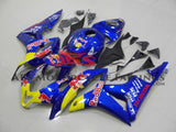 Blue Red Bull Fairing Kit for a 2007, 2008 Honda CBR600RR motorcycle