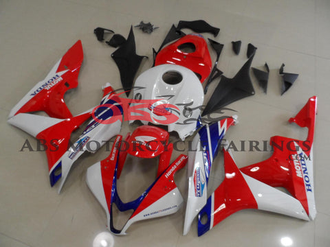 Honda CBR600RR (2007-2008) Red, White & Blue TT Legends Race Fairings