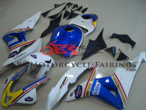 Honda CBR600RR (2007-2008) White & Blue Rothmans Race Fairings