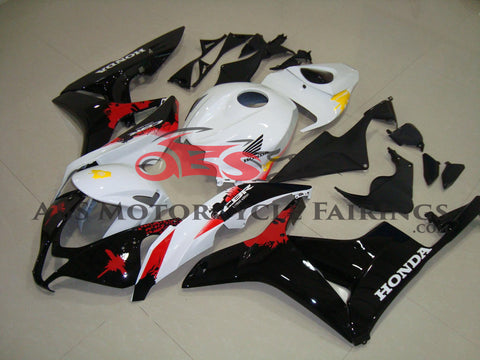 Honda CBR600RR (2007-2008) White & Black Limited Edition Fairings
