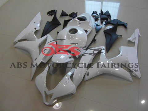 Honda CBR600RR (2007-2008) White Fairings