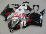 Black, White, Red and Yellow Limited Edition Fairing Kit for a 2009, 2010, 2011 & 2012 Honda CBR600RR motorcycle
