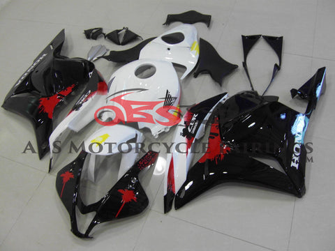 Black Red & White 2009-2012 Honda CBR600RR