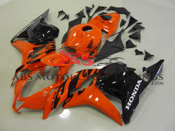 Orange & Black 2009-2012 Honda CBR600RR