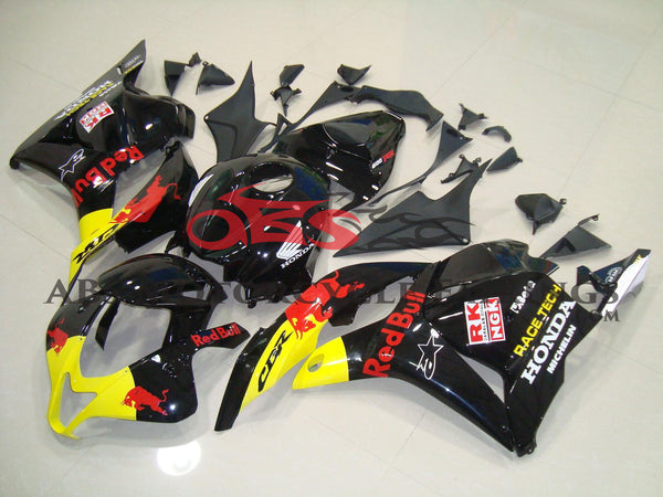 Honda CBR600RR (2009-2012) Black & Yellow Red Bull Fairings