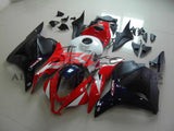Red, White, Dark Blue and Black Fairing Kit for a 2009, 2010, 2011 & 2012 Honda CBR600RR motorcycle