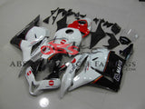 Honda CBR600RR (2009-2012) White, Black & Red Konica Minolta Fairings