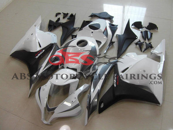White Black & Grey 2009-2012 Honda CBR600RR